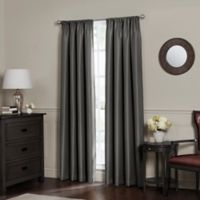 Emery 84-Inch Rod Pocket Insulated Total Blackout™ Window Curtain Panel in Charcoal