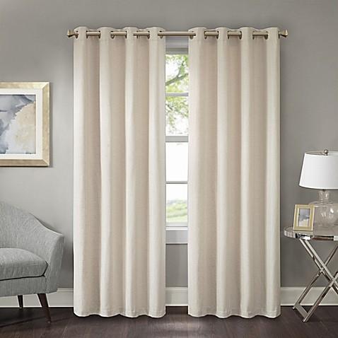 Prescott Room Darkening Grommet Window Curtain Panel