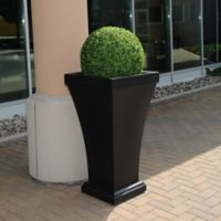 Mayne Bordeaux 40-Inch Tall Planter in Black