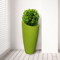 Mayne Modesto 32-Inch Tall Planter in Macaw Green