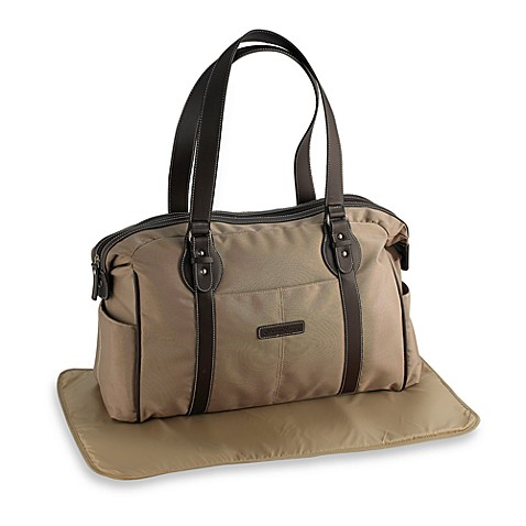 eddie bauer shoreline tan diaper bag bed bath beyond. Black Bedroom Furniture Sets. Home Design Ideas