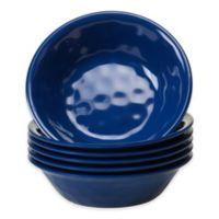 Certified International Melamine Bowls in Cobalt (Set of 6)
