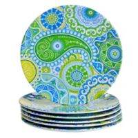 Certified International Boho Salad Plates (Set of 6)