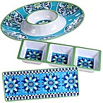 Certified International Grenada 3-Piece Hostess Set