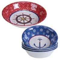 Certified International Nautique Melamine 5-Piece Salad Serving Set