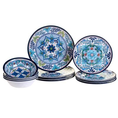 Certified International Talavera 12-Piece Dinnerware Set  sc 1 st  Bed Bath \u0026 Beyond & Buy Break Resistant Dinnerware Set from Bed Bath \u0026 Beyond