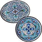 Certified International Talavera 2-Piece Serving Platter Set