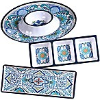Certified International Talavera 3-Piece Hostess Serving Set
