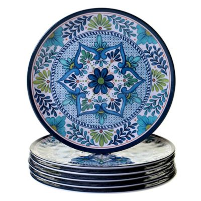 certified talavera dinner plates set of 6