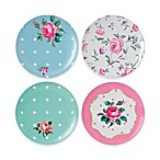 Royal Albert Vintage Mix Picnic Salad Plates (Set of 4)