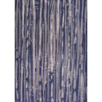 KAS Retreat Visions 2-Foot 2-Inch x 3-Foot 9-Inch Accent Rug in Navy