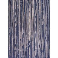 KAS Retreat Visions 3-Foot 3-Inch x 5-Foot 3-Inch Area Rug in Navy