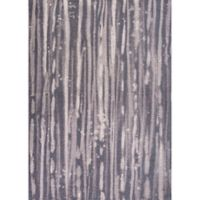 KAS Retreat Visions 3-Foot 3-Inch x 5-Foot 3-Inch Area Rug in Charcoal