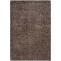 Safavieh Reno 4-Foot x 6-Foot Shag Area Rug in Mushroom