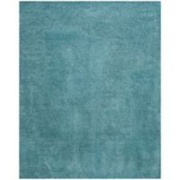 Safavieh Reno 9-Foot x 12-Foot Shag Area Rug in Turquoise