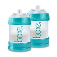 BARE® 2-Pack 4 oz. Polypropylene Air-Free Bottles with Perfe-Latch® Nipples in Turquoise