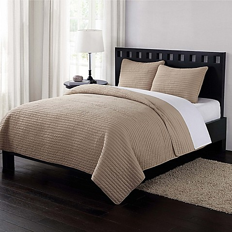 Bedspread Stripes Quilt Bed Bath And Beyond