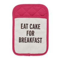 "kate spade new york ""Eat Cake for Breakfast"" Pot Holder in Pink"