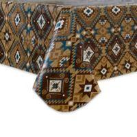 Santa Fe 52-Inch Square Vinyl Tablecloth