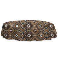 Santa Fe 60-Inch x 84-Inch Oblong Tablecloth with Umbrella Hole