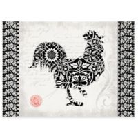 Premium Comfort by Weather Guard™ 22-Inch x 31-Inch Rooster Comfort Mat in Black/White