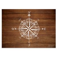 Premium Comfort By Weather Guard™ 22-Inch x 31-Inch Compass on Wood Comfort Mat