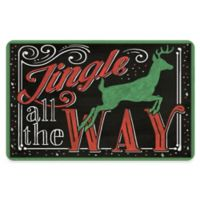 """Premium Comfort By Weather Guard™ 22-Inch x 31-Inch """"Jingle All the Way"""" Comfort Mat"""