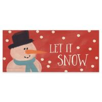 "Premium Comfort by Weather Guard™ 22-Inch x 52-Inch ""Let it Snow"" Runner"