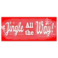 """Premium Comfort by Weather Guard™ 22-Inch x 52-Inch """"Jingle All the Way"""" Runner"""