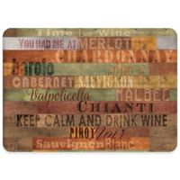 Premium Comfort By Weather Guard™ 22-Inch x 31-Inch Wooden Wines Comfort Mat