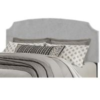 Hillsdale Furniture Desi King Headboard with Frame in Glacier Grey