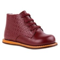 Josmo Shoes Size 4 Woven Print Walking Shoes in Burgundy