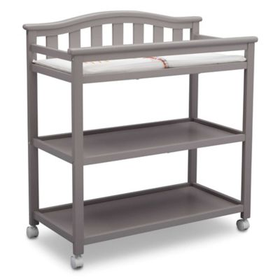 Beau Changing Tables U003e Delta Children Bell Top Changing Table In Grey