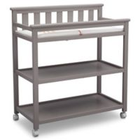 Delta Children Flat Top Changing Table in Grey