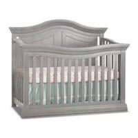 Sorelle Providence 4-in-1 Convertible Crib in Stone Grey