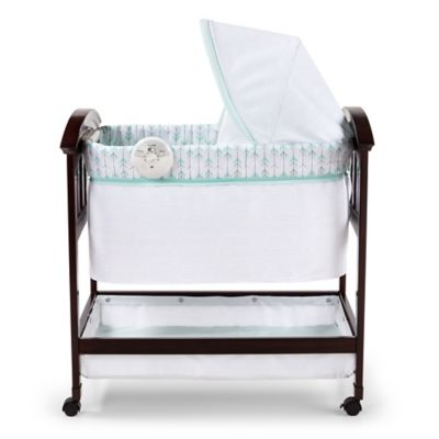 Summer Infant® Classic Comfort™ Wood Bassinet in White  sc 1 st  Bed Bath u0026 Beyond & Buy Canopy Sheets from Bed Bath u0026 Beyond