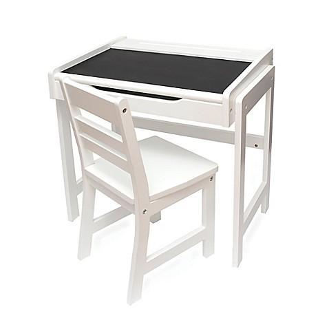 Lipper International Chalkboard Top Desk Amp Chair Set In
