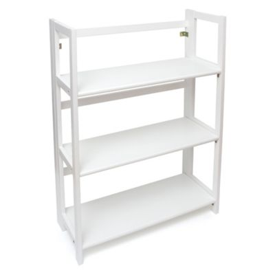 Kids Furniture U003e Lipper Kids 3 Shelf Bookcase In White