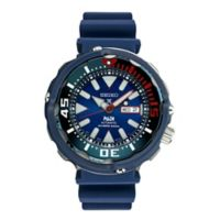 Seiko Prospex Men's 50mm PADI™ Special Edition Diver Watch in Stainless Steel w/Silicone Strap