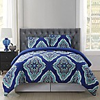 Truly Soft Harper Twin/Twin XL Comforter Mini Set in Blue