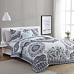 VCNY Home Kaya 3-Piece Twin/Twin XL Comforter Set in Mint/Grey