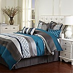 Stratford Park Casbah King 7-Piece Comforter Set in Teal