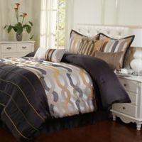 Stratford Park Rockford King 7-Piece Comforter Set in Grey