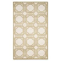 Safavieh Amherst Abigail 6-Foot x 9-Foot Indoor/Outdoor Rug in Ivory/Light Green