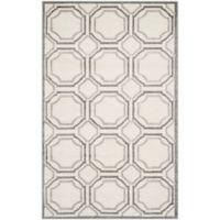 Safavieh Amherst Abigail 6-Foot x 9-Foot Indoor/Outdoor Area Rug in Ivory/Light Grey