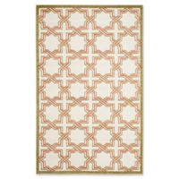 Safavieh Amherst Derry 4-Foot x 6-Foot Indoor/Outdoor Area Rug in Ivory/Light Green