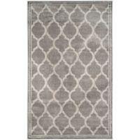 Safavieh Amherst Links 6-Foot x 9-Foot Indoor/Outdoor Area Rug in Grey/Light Grey