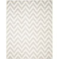 Safavieh Amherst Chevy 10-Foot x 14-Foot Indoor/Outdoor Area Rug in Grey/Beige