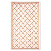 Safavieh Amherst Quine 6-Foot x 9-Foot Indoor/Outdoor Area Rug in Beige/Orange
