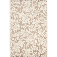Safavieh Amherst Vinca 6-Foot x 9-Foot Indoor/Outdoor Area Rug in Wheat/Beige